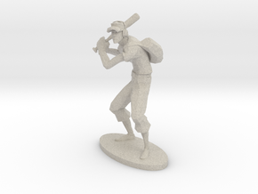 TF2 Scout RED Miniature in Natural Sandstone: Extra Small
