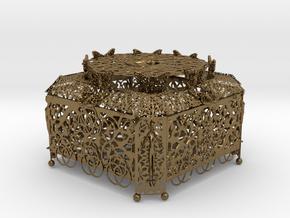 Treasure Box 2 in Polished Bronze