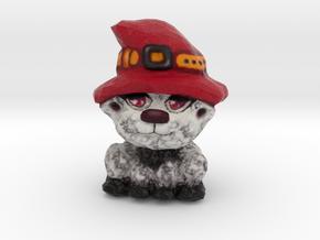 Lou - the Harvest Kitty in Full Color Sandstone
