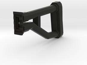 "TF2 ""Classic"" Sniper Rifle Shoulder Stock in Black Natural Versatile Plastic"