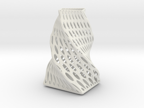 Vase in White Strong & Flexible