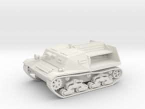 28mm LTV Light artillery tractor in White Premium Versatile Plastic