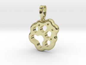 Little Paw in 18k Gold Plated Brass