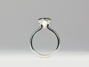 Prenup Ring in Premium Silver: 7 / 54