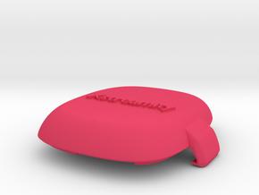 Top Cap for Bowler's Data Ring in Pink Processed Versatile Plastic