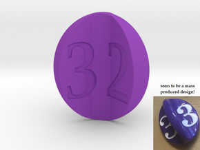 apple d3 (for Impact!) in Purple Strong & Flexible Polished