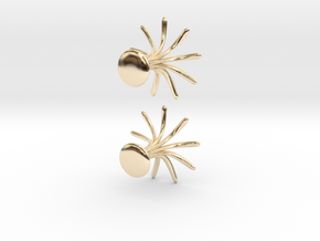 Cufflinks Flourish in 14K Yellow Gold