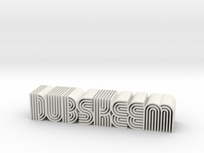 Dubskeem in White Natural Versatile Plastic