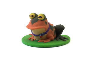Hypnotoad in Full Color Sandstone