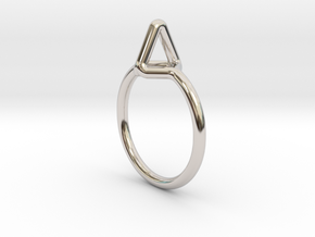 Summit Ring S.02, US size 7.5, d=17,5mm  in Platinum: 7.5 / 55.5