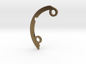 Rad fin A-3 in Natural Bronze