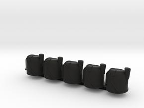 5 x Bearskin in Black Premium Versatile Plastic