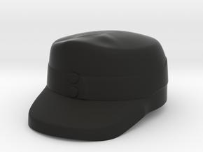 Alpine Infantry Cap in Black Premium Versatile Plastic