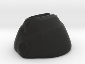 Oversea Cap in Black Premium Versatile Plastic