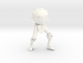 Sentry buster in White Processed Versatile Plastic