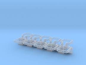 N Scale Tank Car Loading Bridge 10x Medium in Frosted Ultra Detail