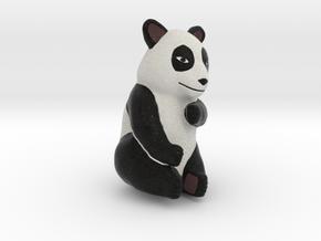 Panda 10cm tall in Full Color Sandstone
