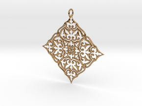 MARIBESQUES Pendant in Polished Brass