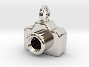 Mini DSLR Camera - Pendant in Platinum