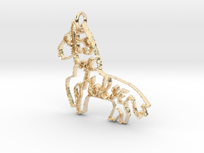 Yes of Horse! in 14k Gold Plated Brass