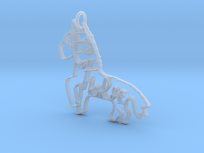Yes of Horse! in Smooth Fine Detail Plastic