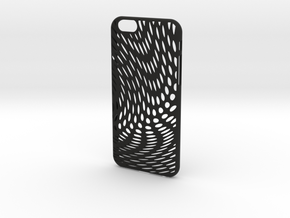 iPhone 6 / 6S Case_Wave in Black Premium Strong & Flexible