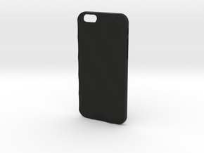 iPhone 6S Case_Hexagon in Black Premium Strong & Flexible