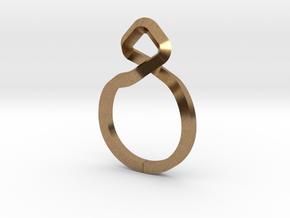 A-LINE Dancing D.011 Sharp, US size 5, d=15,5mm in Natural Brass: 5 / 49