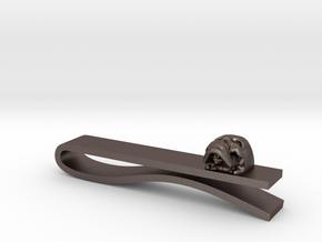 Skull Tie Bar 1 in Stainless Steel