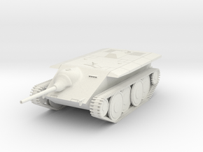 DW17A E-10 Tank Destroyer (28mm) in White Natural Versatile Plastic