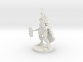 Heavy Fighter/Mage in White Natural Versatile Plastic