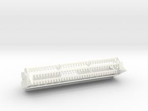 L/M 22ft flex header in White Processed Versatile Plastic