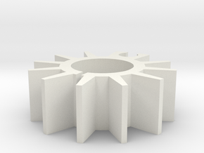 THE HEATSINK in White Natural Versatile Plastic