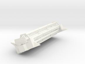 L/M 18 Ft Flex header in White Processed Versatile Plastic
