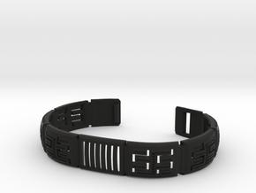 Viking Module Bracelet 1 in Black Premium Versatile Plastic