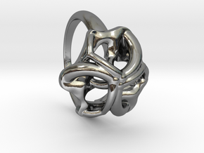 Monera Ring in Premium Silver: 6.5 / 52.75