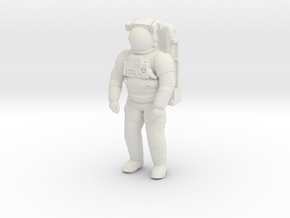 NASA EMU (Extravehicular Mobility Unit)  50mm in White Natural Versatile Plastic