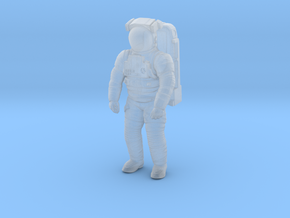 NASA EMU (Extravehicular Mobility Unit)  50mm in Smooth Fine Detail Plastic
