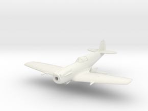 "Spitfire LF Mk XIVE ""high back"" in White Natural Versatile Plastic: 1:144"