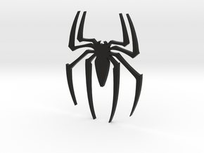 Spider wall decoration in Black Natural Versatile Plastic