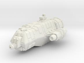 Jovian Pangolin class Light Carrier in White Premium Versatile Plastic