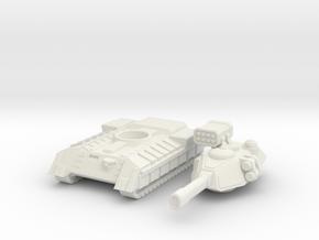 Terran Main Battle Tank in White Premium Versatile Plastic