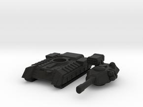 Terran Main Battle Tank in Black Premium Versatile Plastic