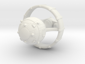 Belter Battlewagon v2 in White Premium Versatile Plastic