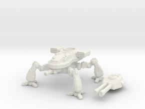Terran Artillery Walker in White Premium Versatile Plastic