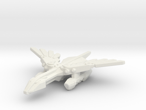 Murustan Basilisk class Destroyer in White Premium Versatile Plastic