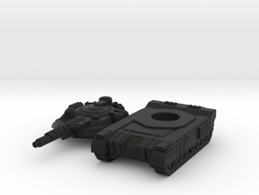 Terran Laser Tank in Black Premium Versatile Plastic
