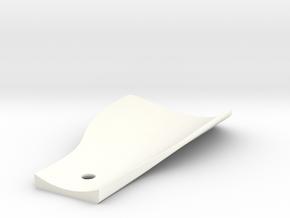 Spritzschutz / mudguard in White Strong & Flexible Polished