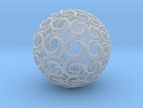 ks Sphere in Smooth Fine Detail Plastic