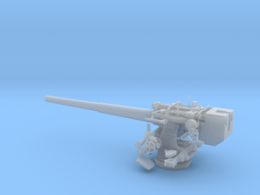 1/35 DKM 12.7cm (5in) SK/C34 Naval Gun  in Smooth Fine Detail Plastic